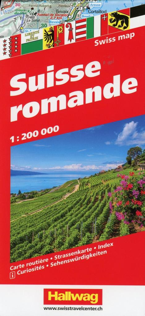 Suisse Romande 1 : 200 000 als Buch