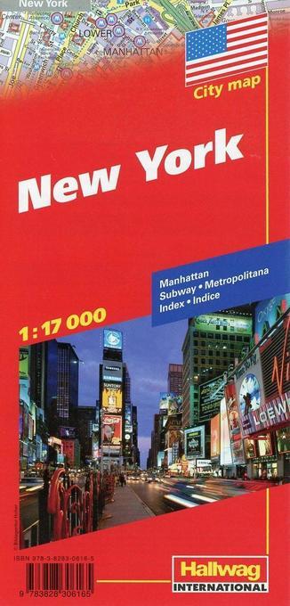 City map. New York 1 : 17 000 als Buch