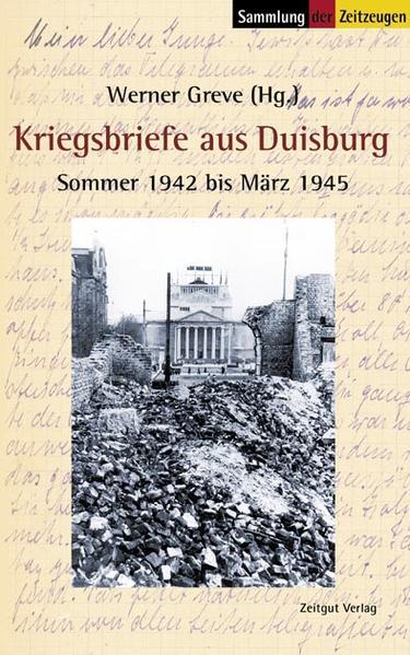 Kriegsbriefe aus Duisburg als Buch