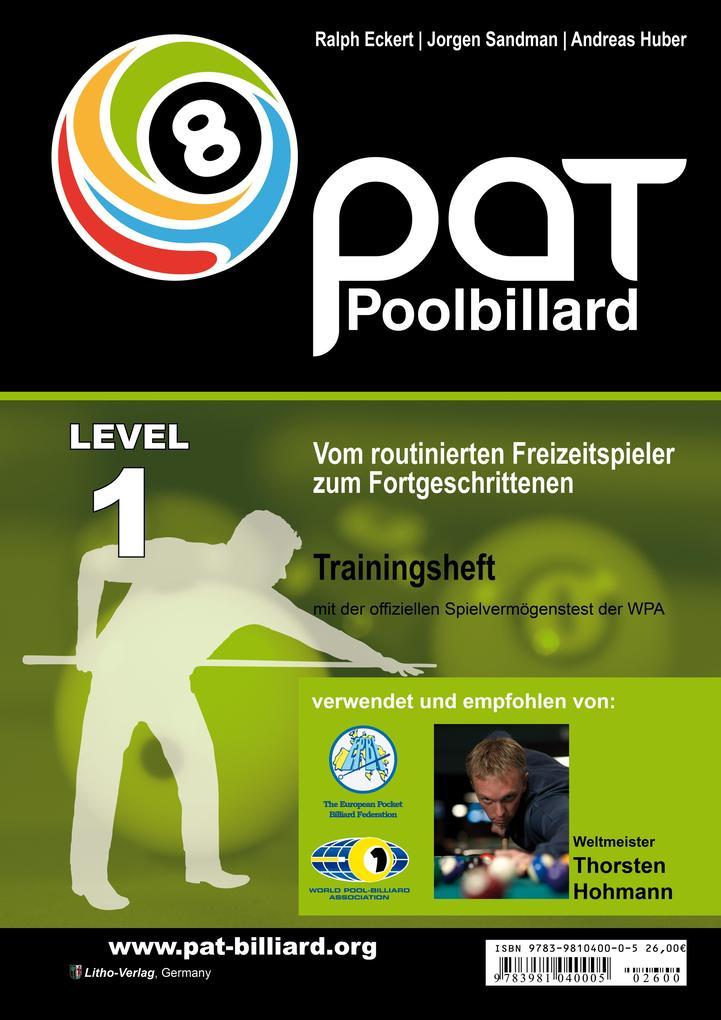 Pool Billard Trainingsheft PAT 1 als Buch