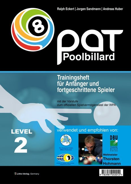 Pool Billard Trainingsheft PAT 2 als Buch