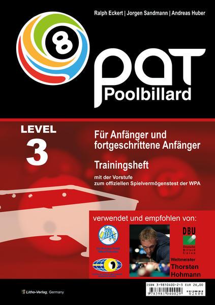 Pool Billard Trainingsheft PAT 3 als Buch