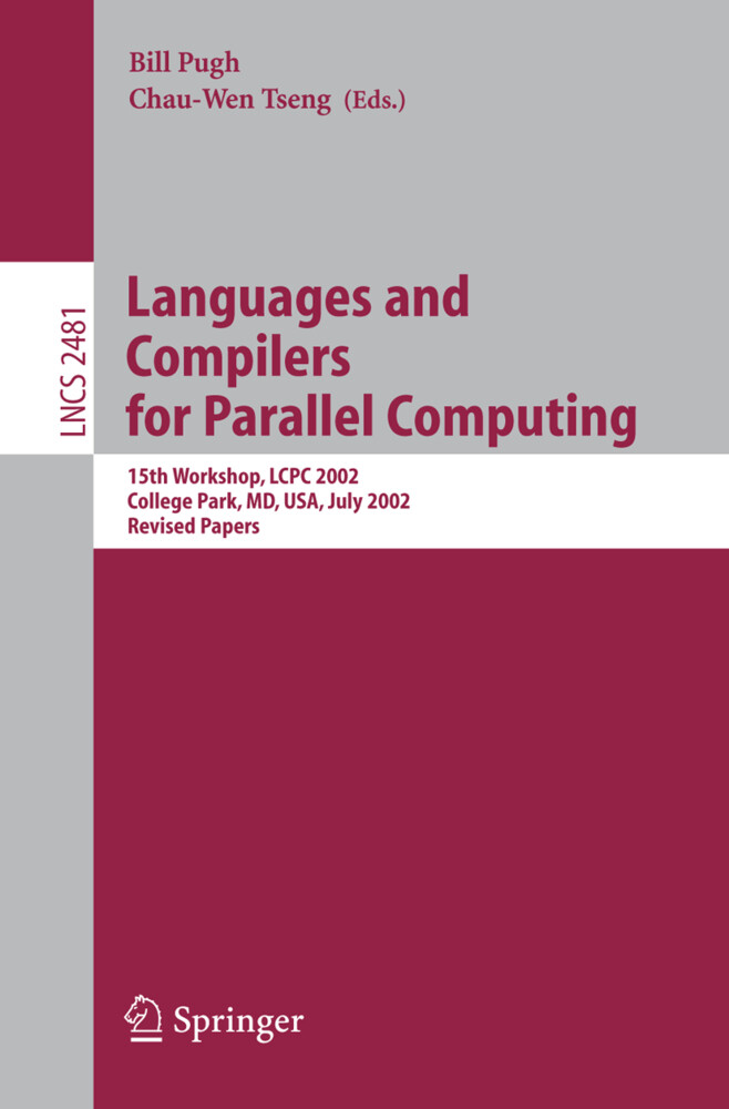 Languages and Compilers for Parallel Computing als Buch