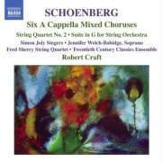 A Capella Chöre/Streichquartet als CD