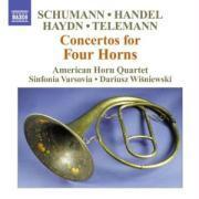 Konzerte Für 4 Hörner als CD