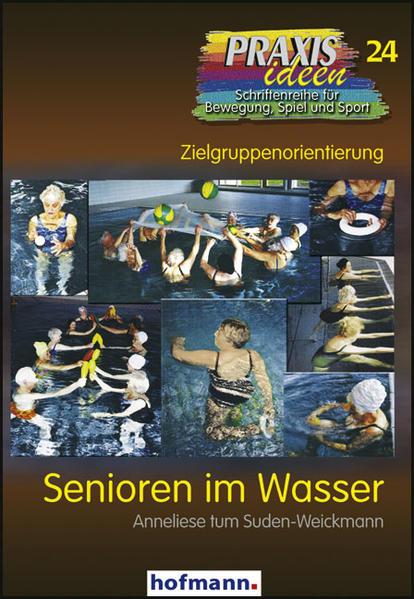 Senioren im Wasser als Buch