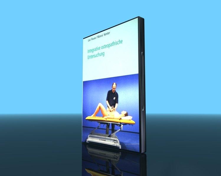 Integrative osteopathische Untersuchung, DVD als DVD