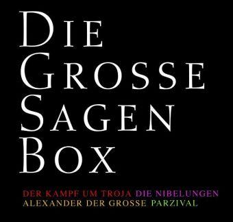 Die große Sagenbox. 20 CDs als Hörbuch