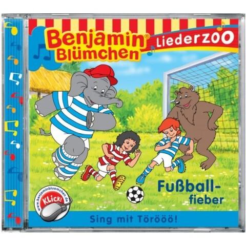 Liederzoo: Fußballfieber als CD