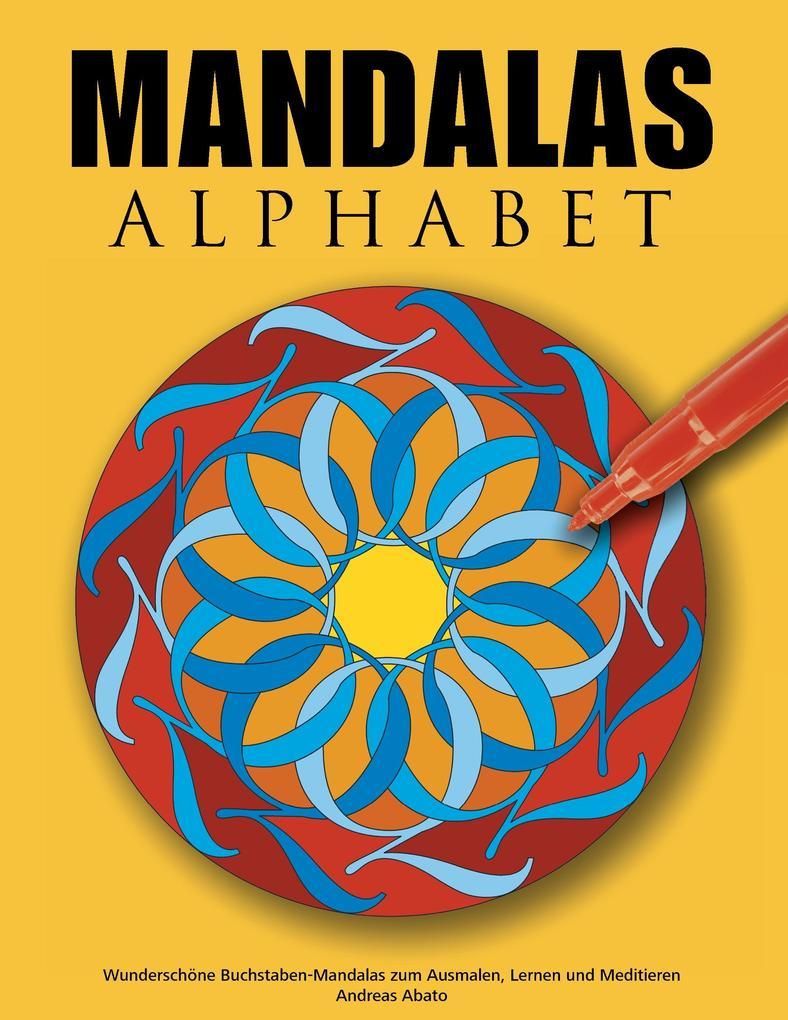 Mandalas Alphabet als Buch
