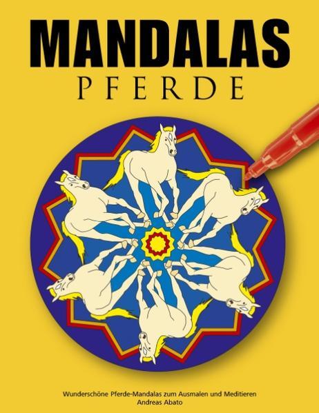 Mandalas Pferde als Buch