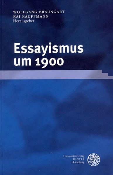 Essayismus um 1900 als Buch