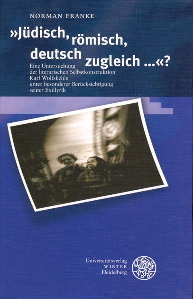 """""""Jüdisch, römisch, deutsch zugleich ...?"""" als Buch"""