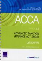 ADVANCED TAXATION FA 2002 3.2 als Taschenbuch