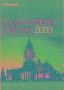 "The ""Guardian"" Local Authority Directory als Taschenbuch"