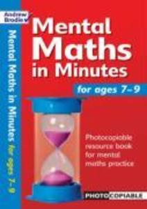 Mental Maths in Minutes for Ages 7-9 als Taschenbuch