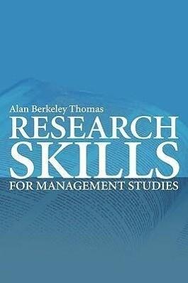 Research Skills for Management Studies als Taschenbuch