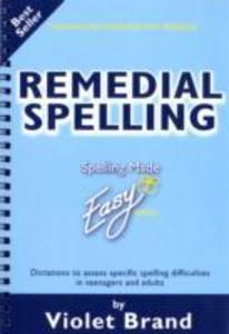 Remedial Spelling als Taschenbuch