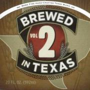 Brewed In Texas Vol.2 als CD