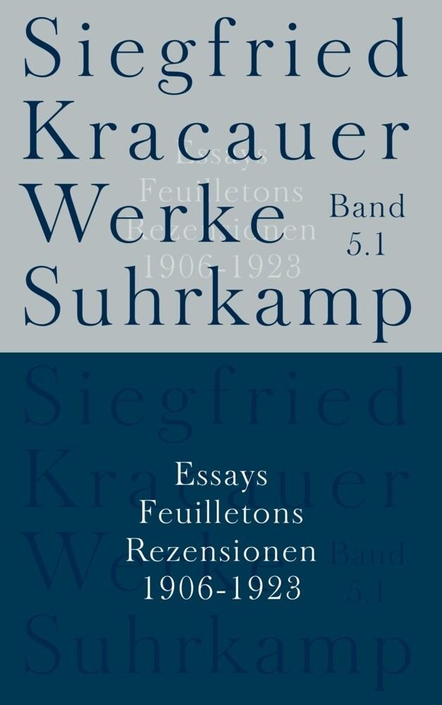 Essays, Feuilletons und Rezensionen als Buch