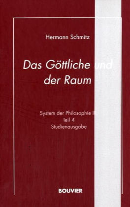 System der Philosophie 3/4. Das Göttliche und der Raum als Buch