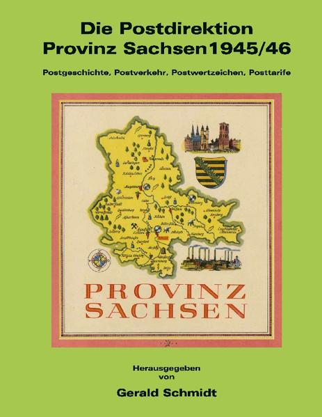 Die Postdirektion Provinz Sachsen 1945/46 als Buch