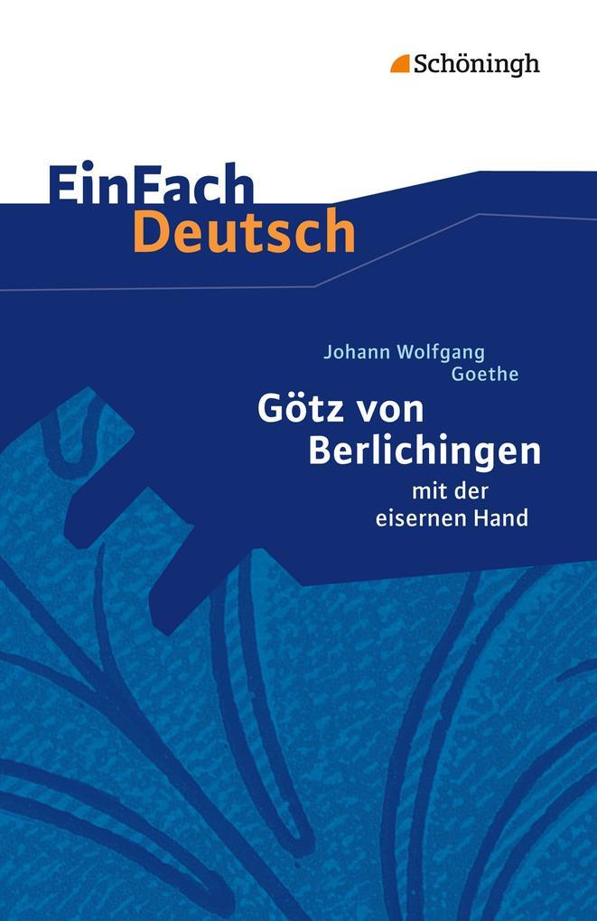 EinFach Deutsch Textausgaben als Buch
