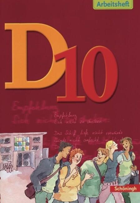 D10 Arbeitsheft. Deutsch als Buch