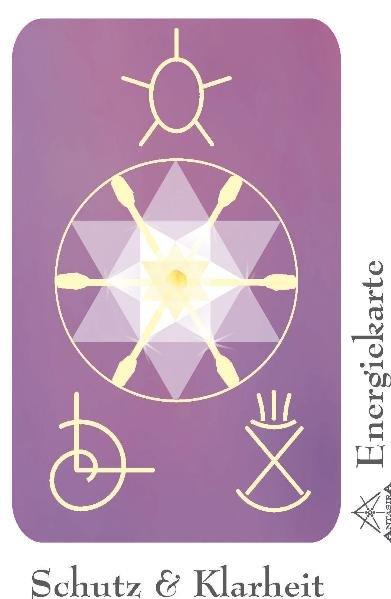 Energiesymbolkarte Schutz & Klarheit als Buch