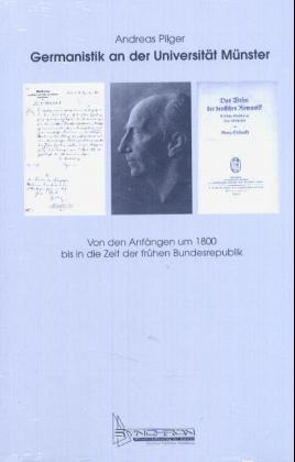 Germanistik an der Universität Münster als Buch