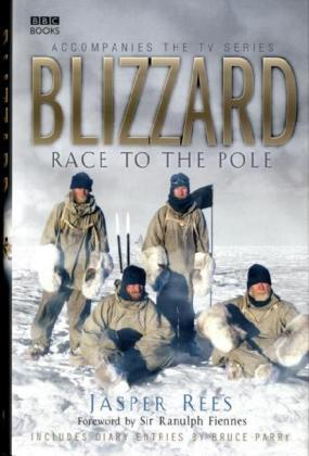 Blizzard: Race to the Pole als Buch