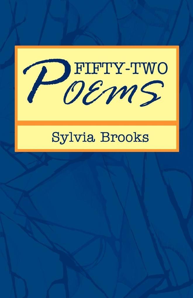 Fifty-Two Poems als Taschenbuch