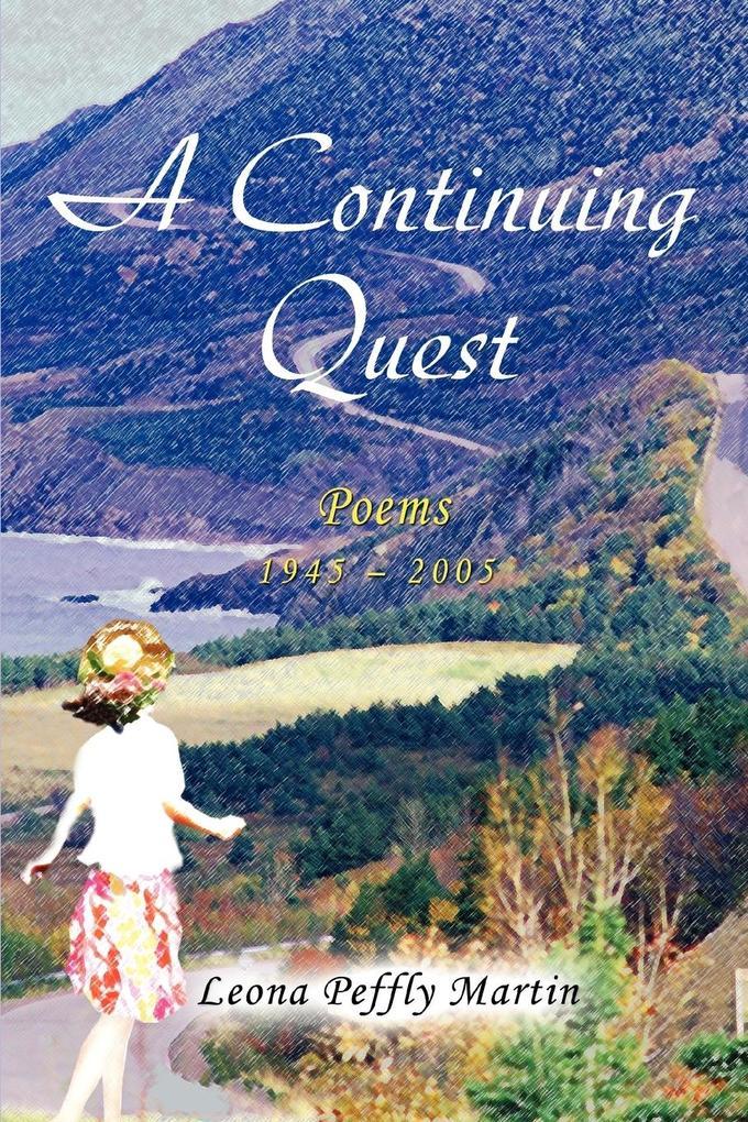 A Continuing Quest: Poems als Taschenbuch
