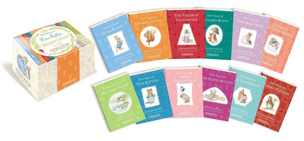 The Miniature World of Peter Rabbit als Buch