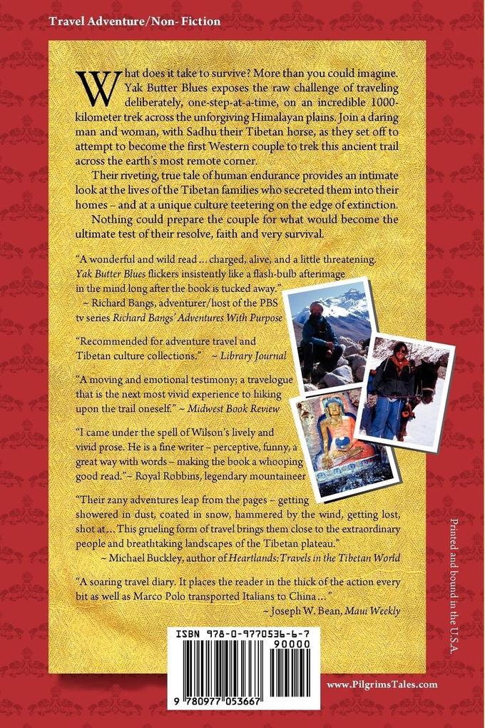 Yak Butter Blues: A Tibetan Trek of Faith als Taschenbuch
