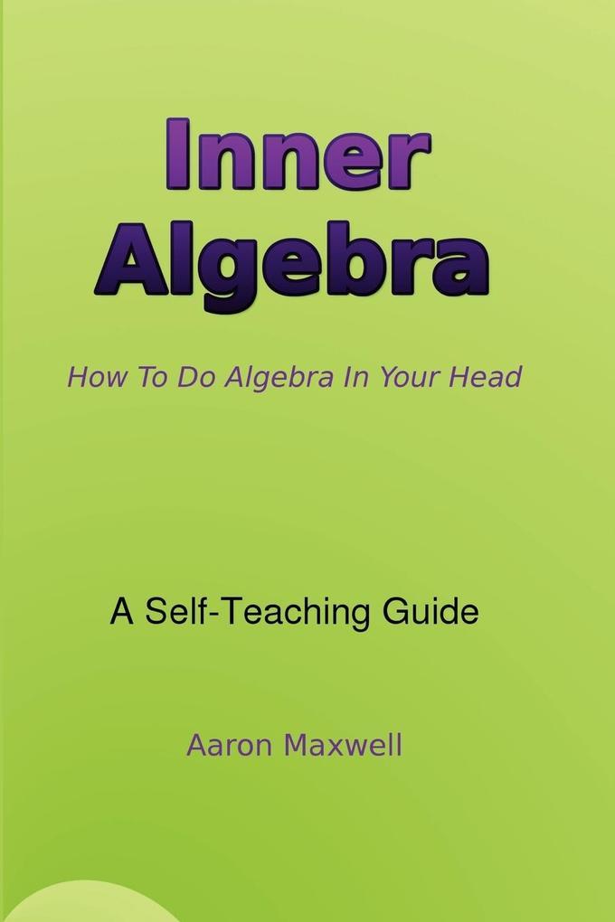 Inner Algebra als Taschenbuch