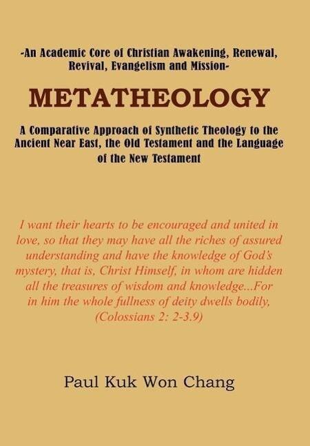 Metatheology als Buch