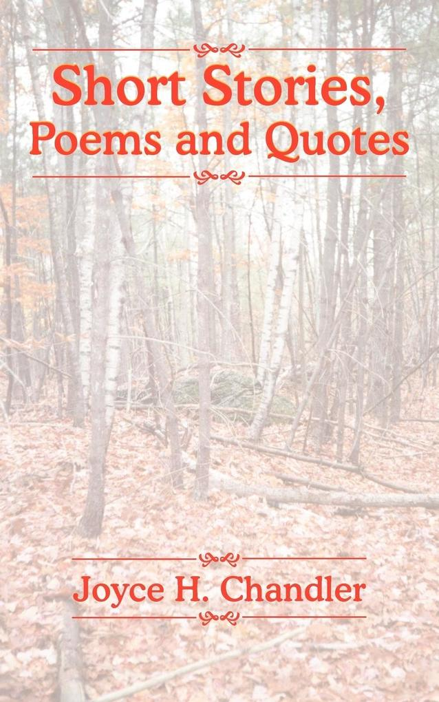 Short Stories, Poems and Quotes als Taschenbuch