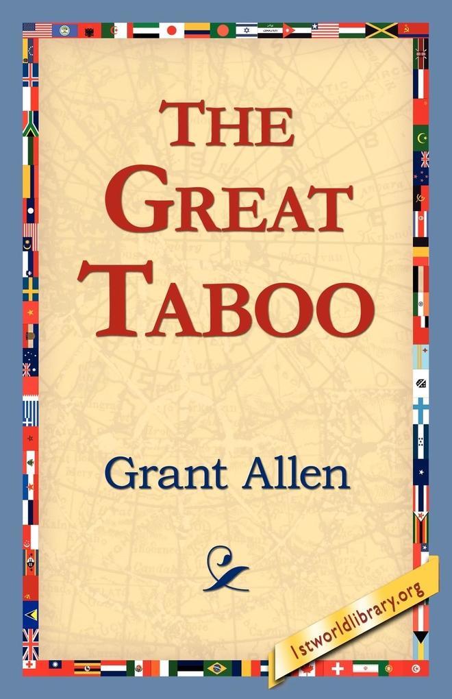 The Great Taboo als Taschenbuch