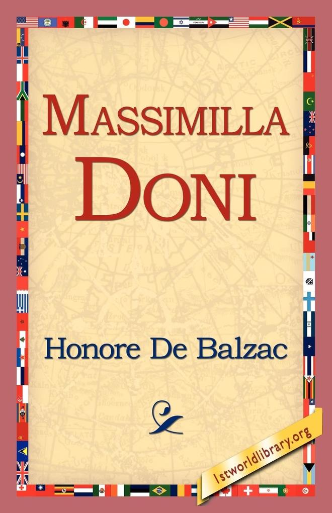 Massimilla Doni als Taschenbuch