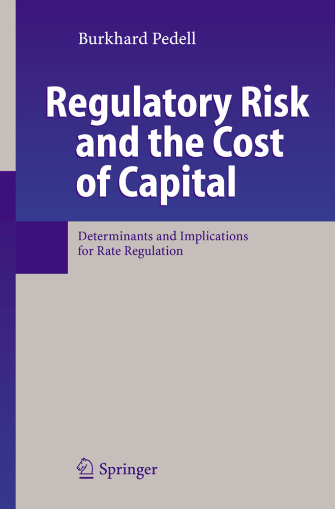Regulatory Risk and the Cost of Capital als Buch