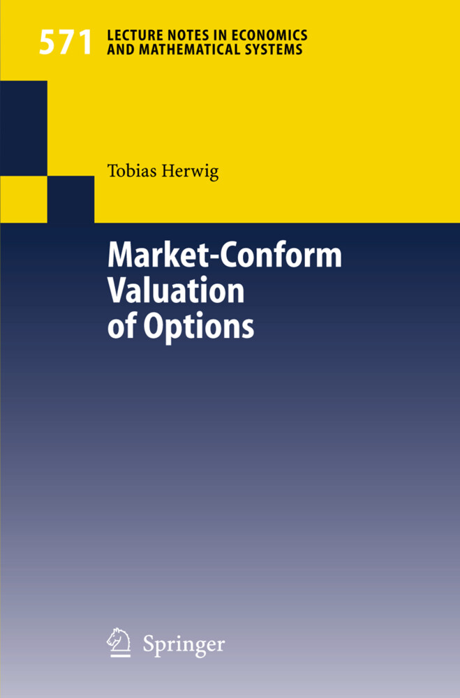 Market-Conform Valuation of Options als Buch