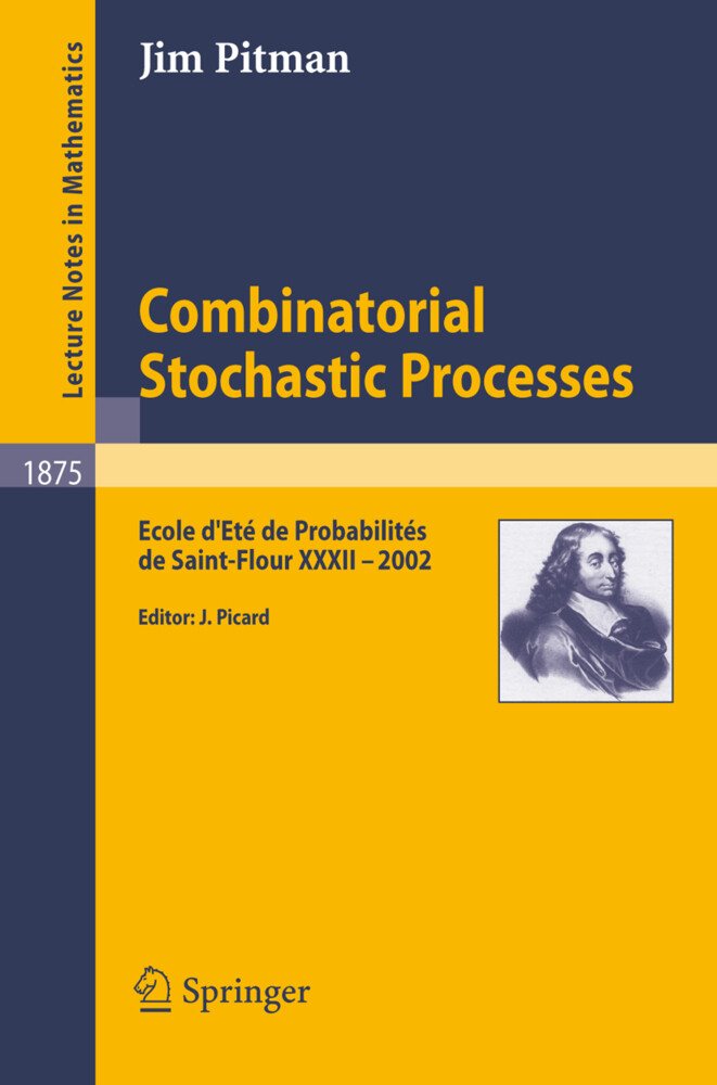 Combinatorial Stochastic Processes als Buch