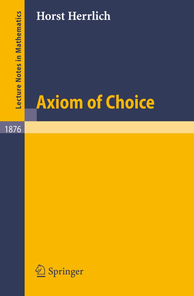 Axiom of Choice als Buch