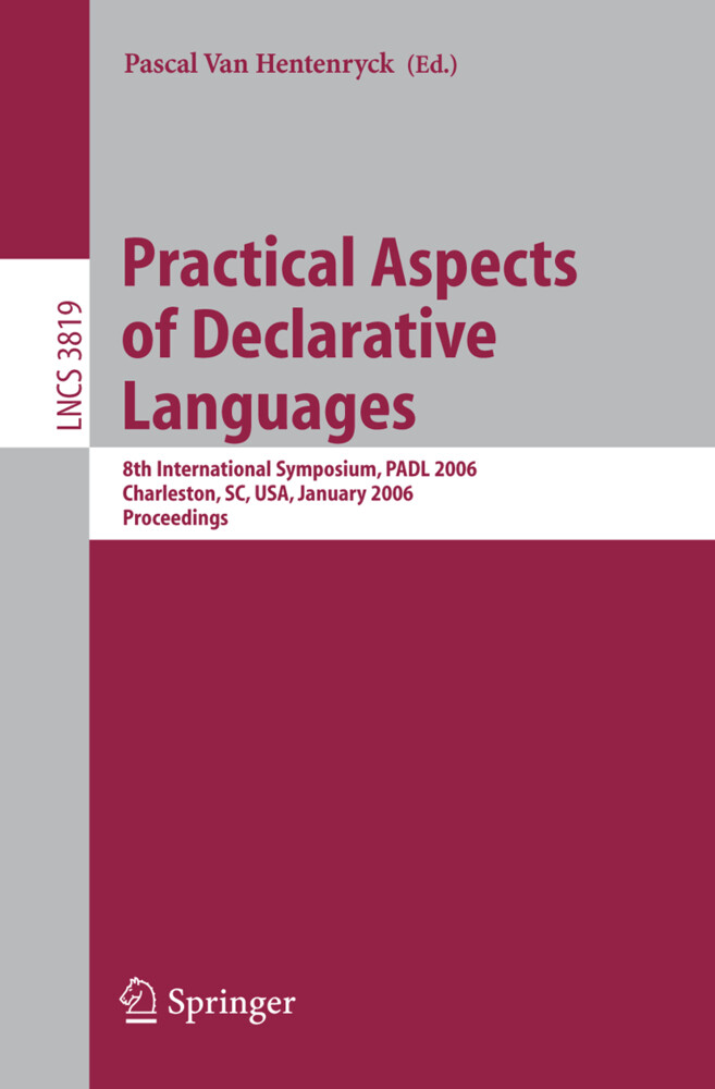 Practical Aspects of Declarative Languages als Buch