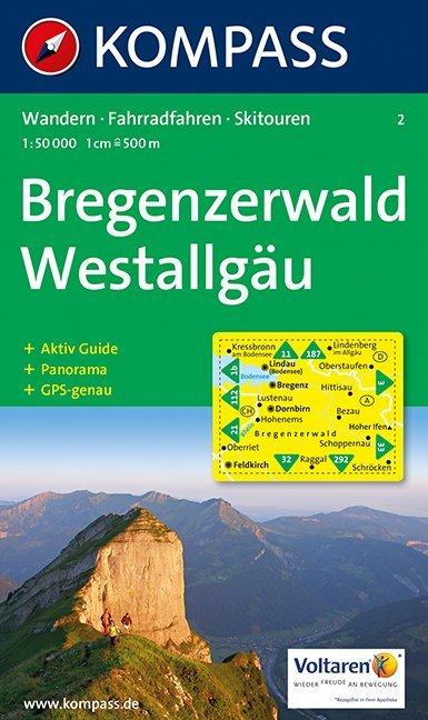 Bregenzerwald / Westallgäu 1 : 50 000 als Buch