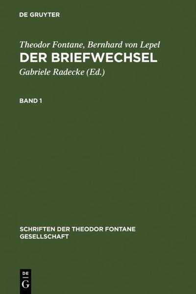 Der Briefwechsel, 2 Bde. als Buch