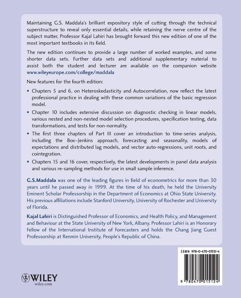 Introduction to Econometrics 4 als Buch