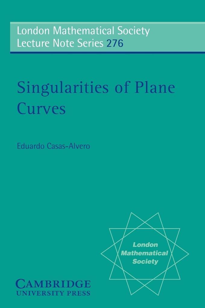 Singularities of Plane Curves als Taschenbuch