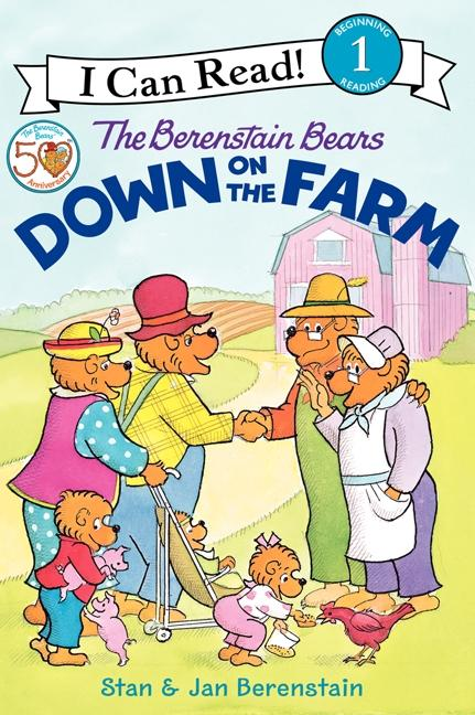 The Berenstain Bears Down on the Farm als Taschenbuch